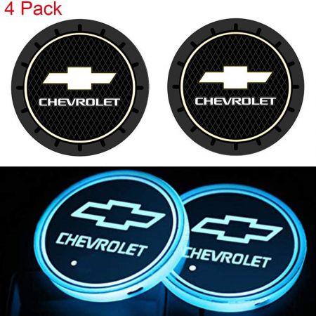 CHEVROLET LED CAR CUP HOLDER